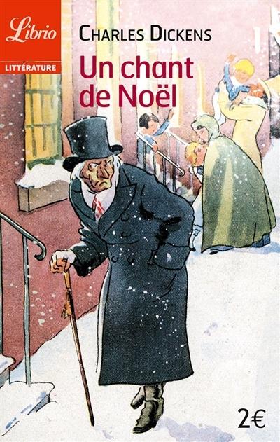 Couverture Le drôle de Noël de Scrooge / Un chant de Noël, abrégé
