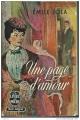 Couverture Une page d'amour Editions Le Livre de Poche 1961