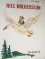 Couverture Le merveilleux voyage de Nils Holgersson à travers la Suède Editions Delagrave 1967