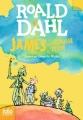 Couverture James et la grosse pêche Editions Folio  (Junior) 2016