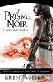 Couverture Le porteur de lumière, tome 1 : Le prisme noir Editions Milady 2015
