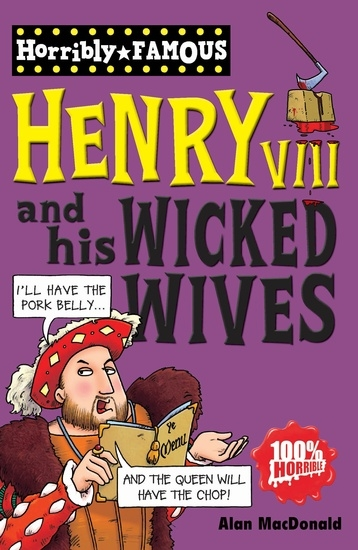 Couverture Henry VIII and his wicked wives