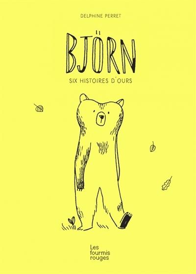Couverture Björn : Six histoires d'ours