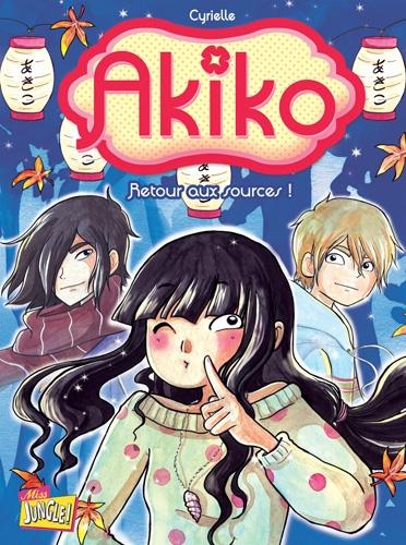 Couverture Akiko, tome 3 : Retour aux sources