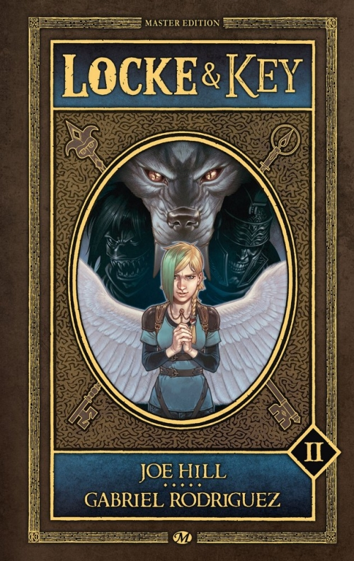 Couverture Locke & Key, intégrale, tome 2