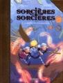 Couverture Sorcières sorcières (BD), tome 3 : Le mystère des trois marchands Editions Kennes 2016