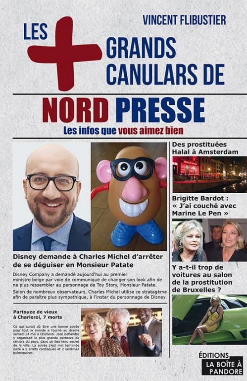 Couverture Les + grands canulars de Nord Presse