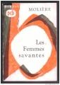 Couverture Les Femmes savantes Editions Bordas (Classiques) 1967