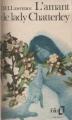 Couverture L'amant de lady Chatterley Editions Folio  1975