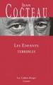 Couverture Les Enfants terribles Editions Grasset (Les Cahiers Rouges) 2013