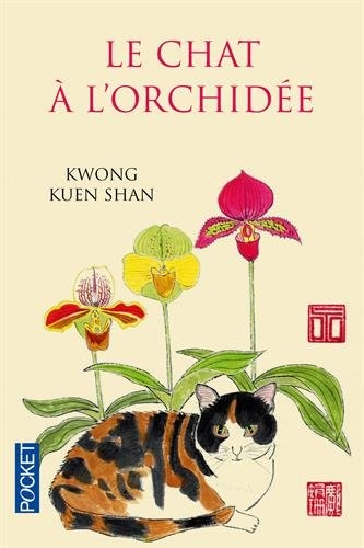 Couverture Le chat à l'orchidée