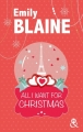 Couverture All I Want for Christmas Editions Harlequin 2016