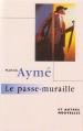 Couverture Le passe-muraille Editions France Loisirs 1996