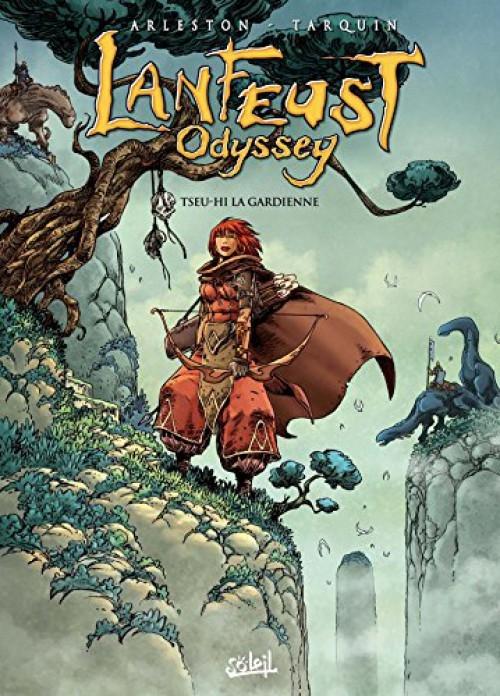 Couverture Lanfeust Odyssey, tome 08 : Tseu-Hi la Gardienne
