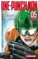 Couverture One-punch man, tome 05 Editions Kurokawa (Shônen) 2016