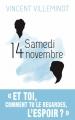 Couverture Samedi 14 novembre Editions Sarbacane 2016