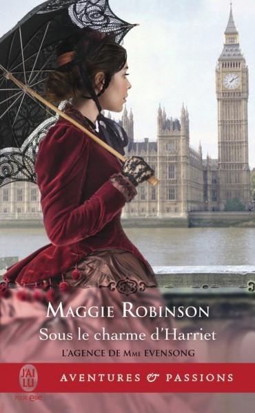 Couverture L'agence de Mme Evensong, tome 4 : Sous le charme d'Harriet