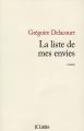 Couverture La Liste de mes envies Editions JC Lattès 2014