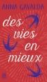 Couverture Des vies en mieux Editions J'ai Lu 2016