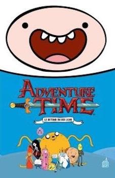 Couverture Adventure time, intégrale, tome 1 : Le retour du roi Liche