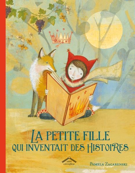 Couverture La petite fille qui inventait des histoires