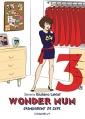 Couverture Wonder mum, tome 3 : Changement de cape Editions Baudelaire (L'étincelle) 2016