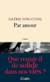 Couverture Par amour Editions JC Lattès 2017