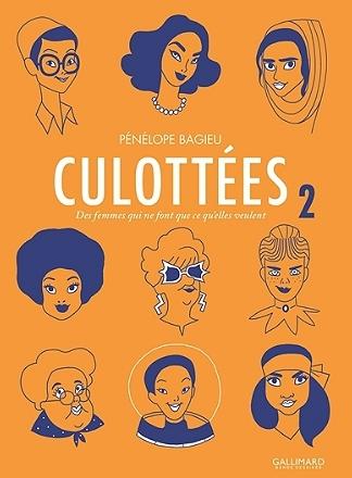 Couverture Culottées (Gallimard), tome 2