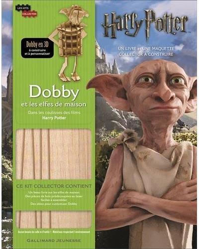Couverture Dans les coulisses des films Harry Potter : Dobby et les elfes de maison