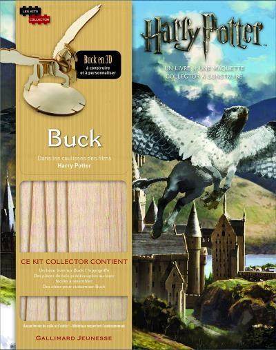 Couverture Dans les coulisses des films Harry Potter : Buck