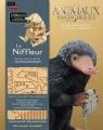 Couverture Dans les coulisses du film Les animaux fantastiques : Le niffleur Editions Gallimard  2016