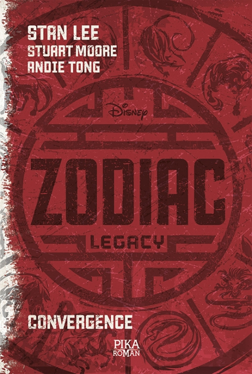 Couverture Zodiac Legacy, tome 1 : Convergence