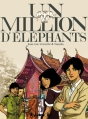 Couverture Un million d'éléphants Editions Futuropolis 2017