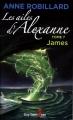 Couverture Les ailes d'Alexanne, tome 7 : James Editions Guy Saint-Jean 2016