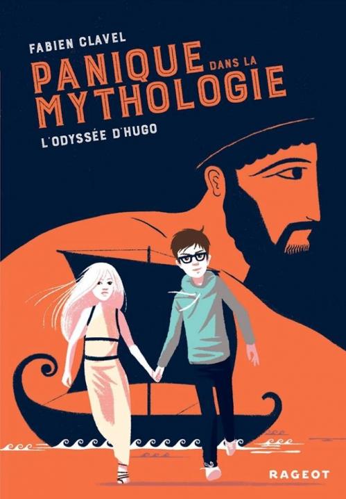 Couverture Panique dans la mythologie, tome 1 : L'odyssée d'Hugo