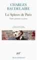 Couverture Le spleen de Paris / Petits poèmes en prose Editions Gallimard  (Poésie) 2006