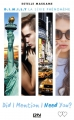 Couverture D.I.M.I.L.Y., tome 2 : Did I mention I need you ? Editions 12-21 2016