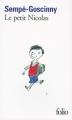 Couverture Le petit Nicolas Editions Folio  1973