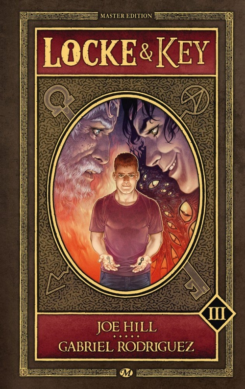 Couverture Locke & Key, intégrale, tome 3