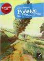 Couverture Poésies Editions Hatier (Classiques & cie - Lycée) 2011