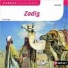 Couverture Zadig / Zadig ou la destinée Editions Nathan (Carrés classiques) 2014