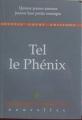 Couverture Tel le Phénix Editions Souffle Court 2016