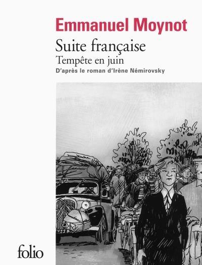 Couverture Suite française : Tempête en juin