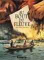 Couverture Au bout du fleuve Editions Futuropolis 2017