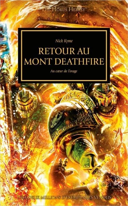 Couverture L'Hérésie d'Horus, tome 32 : Retour au Mont Deathfire