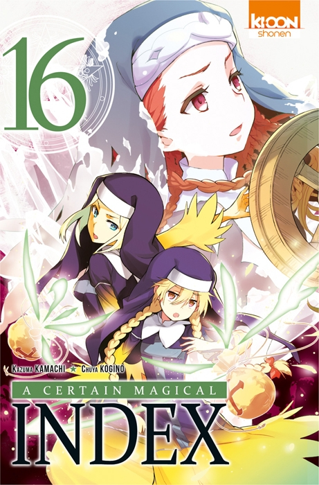 Couverture A certain magical index, tome 16
