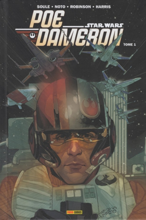 Couverture Star Wars : Poe Dameron, tome 1 : L'escadron Black