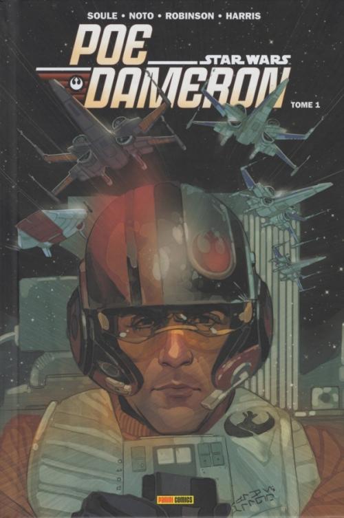 Couverture Star Wars : Poe Dameron, tome 1 : L'escadron Black