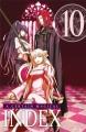 Couverture A certain magical index, tome 10 Editions Ki-oon (Shônen) 2013