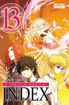 Couverture A certain magical index, tome 13